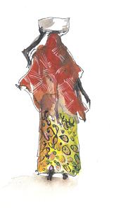 La porteuse de marmite, Nungwi