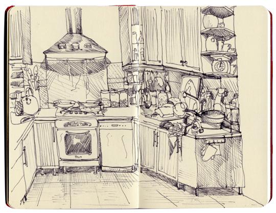 Ma cuisine, 15 octobre 2012