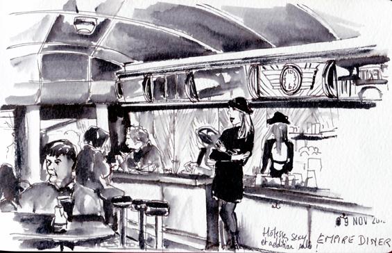 L'Empire Diner, Chelsea