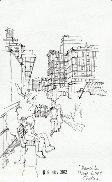 La High Line, Chelsea