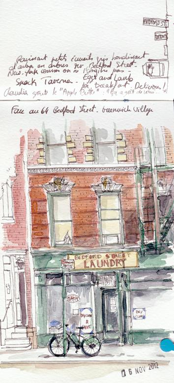 A Greenwich Village, New-York