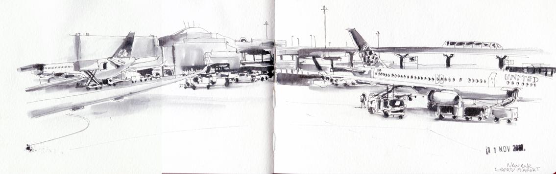 Aéroport de Newark - New-York