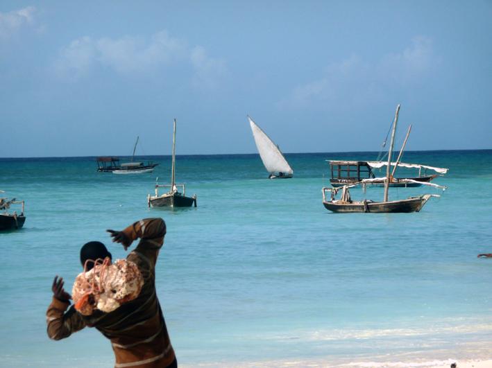 Pêcheur, Nungwi, Zanzibar