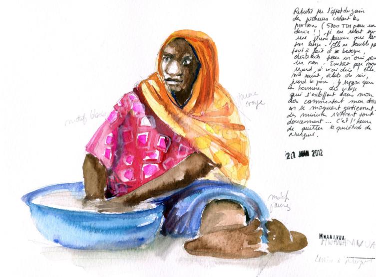 La lessive, Zanzibar
