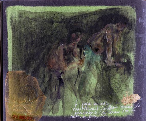 Frappeurs d'or à Mandalay