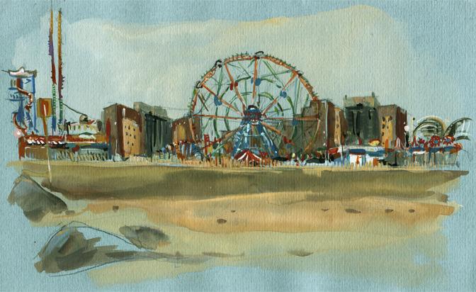 Coney Island, New-York