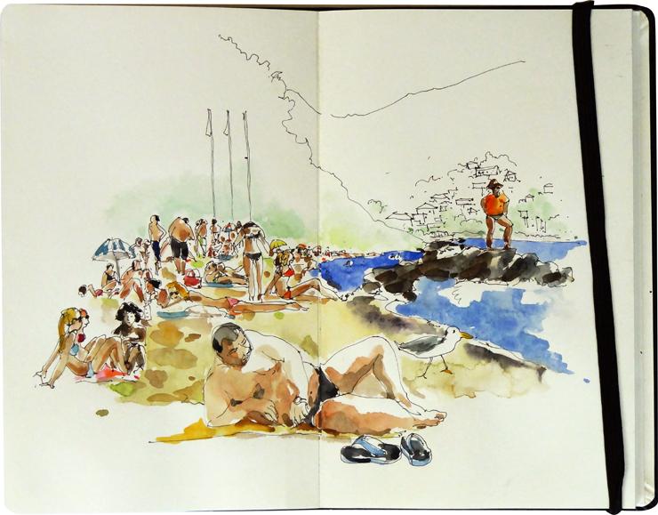 La plage, Théoule sur Mer