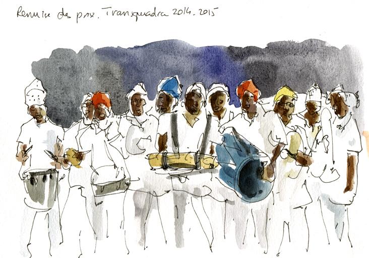 L'Orchestre, cérémonie de clôture, Transquadra 2015