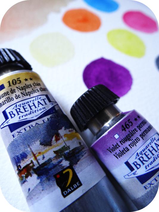 Tubes aquarelle Bréhat Dalbe