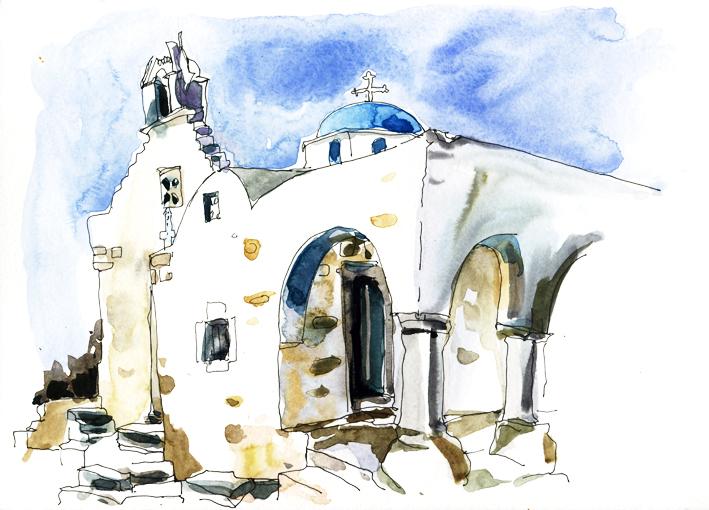 Eglise de Saint Constantin, Parikia