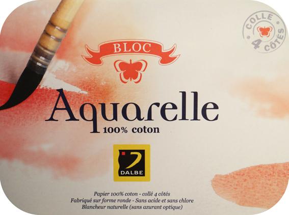 Papier aquarelle Essai Dalbe