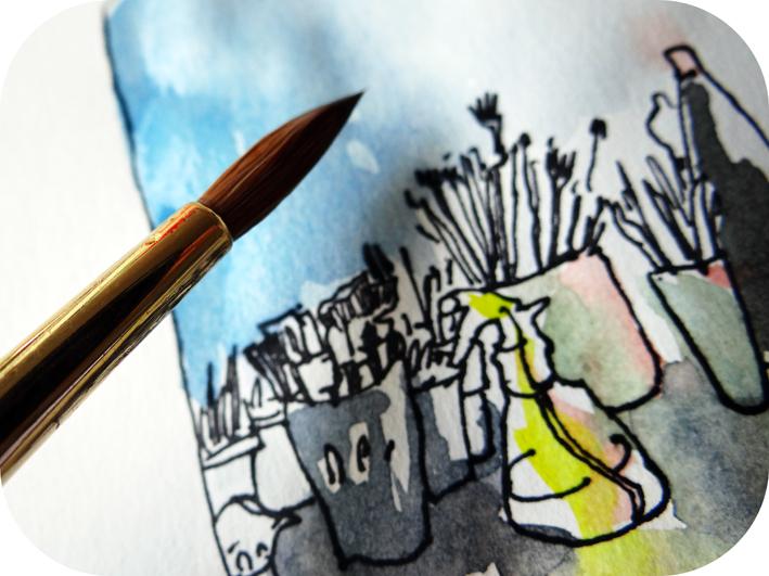Sketchbook essai Dalbe