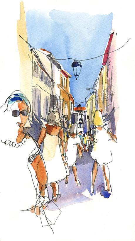 Carnet de voyage à Cannes