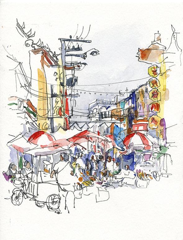 Chinatown, Carnet de voyage à Chiang-Mai